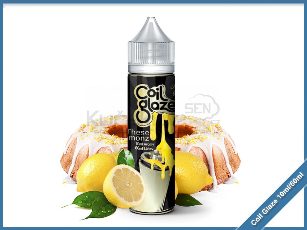 Coil Glaze 10ml Aroma These Lemonz