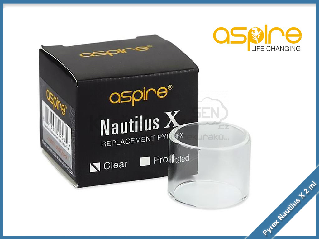 pyrex aspire nautilus x 2ml