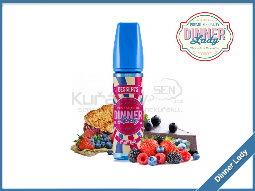 Dinner Lady berry tart new
