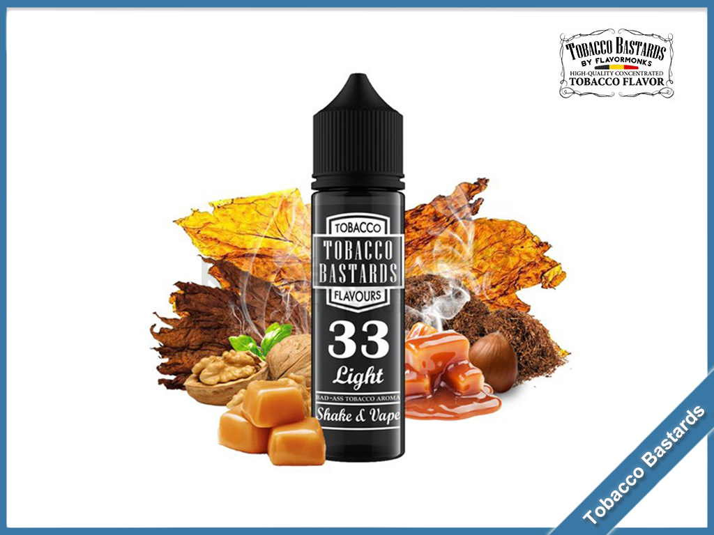 no33 light Flavormonks Tobacco Bastards