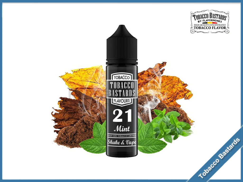 no21 mint Flavormonks Tobacco Bastards