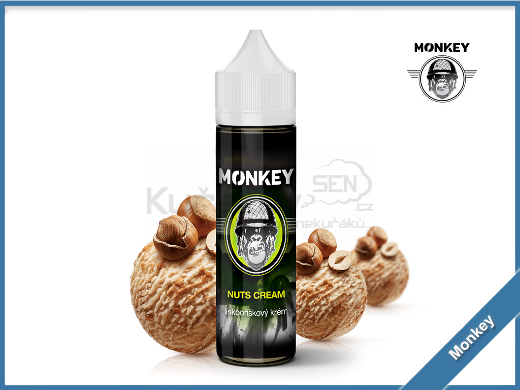 nuts cream monkey 1