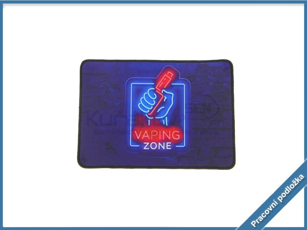 pracovna podlozka vaping zone