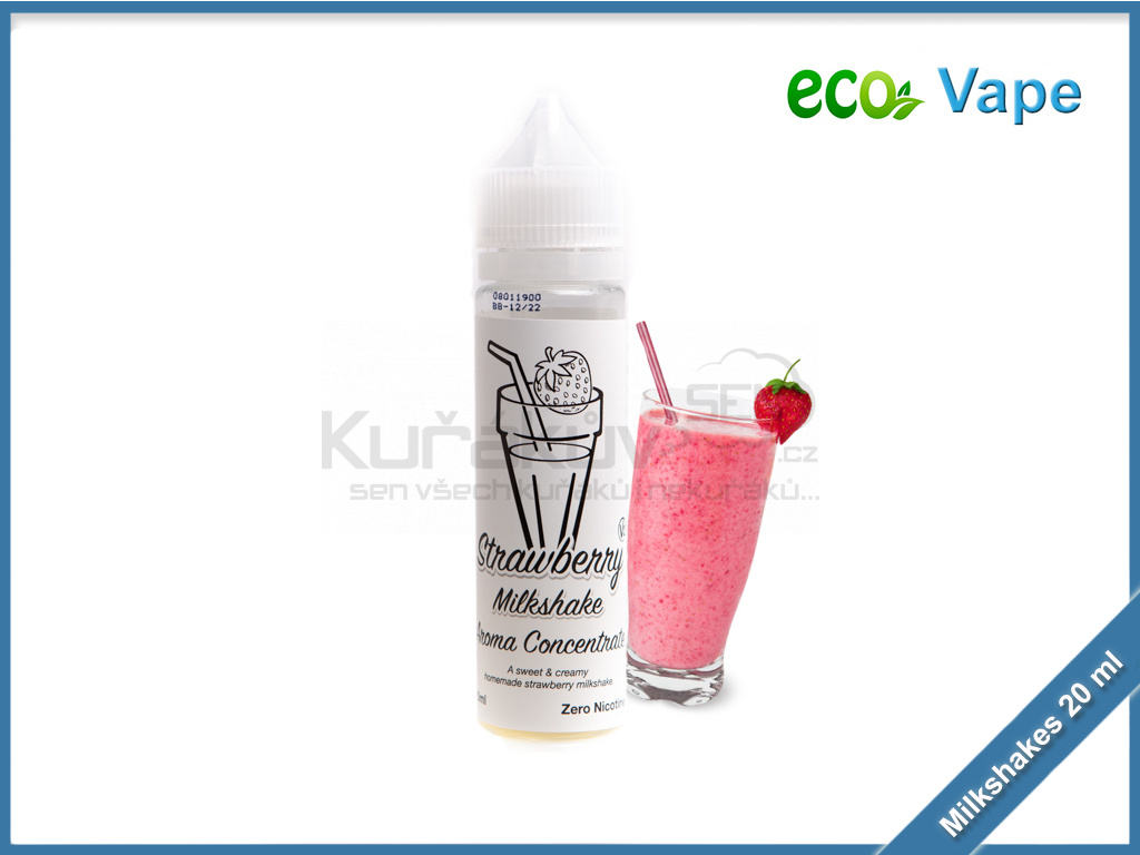 eco vape milkshakes strawberry milkshake