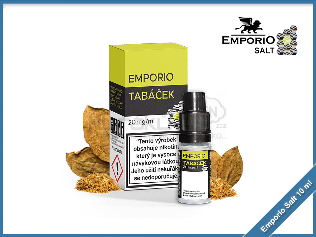 Emporio Salt liquid 10ml Tabacek
