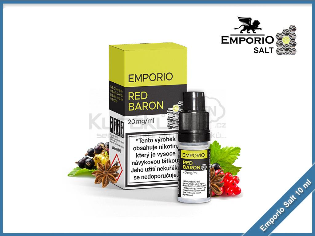 Emporio Salt liquid 10ml Red Baron