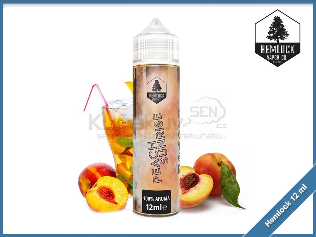 Hemlock shake and vape 12ml aroma peach sunrise