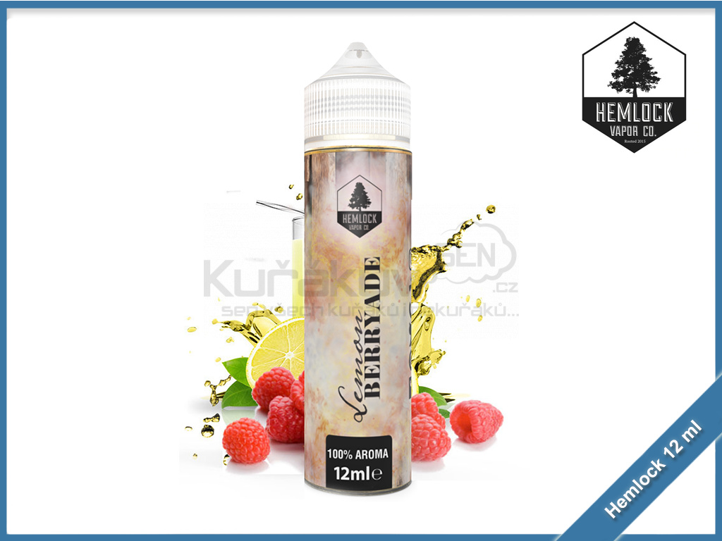 Hemlock shake and vape 12ml aroma lemon berryade