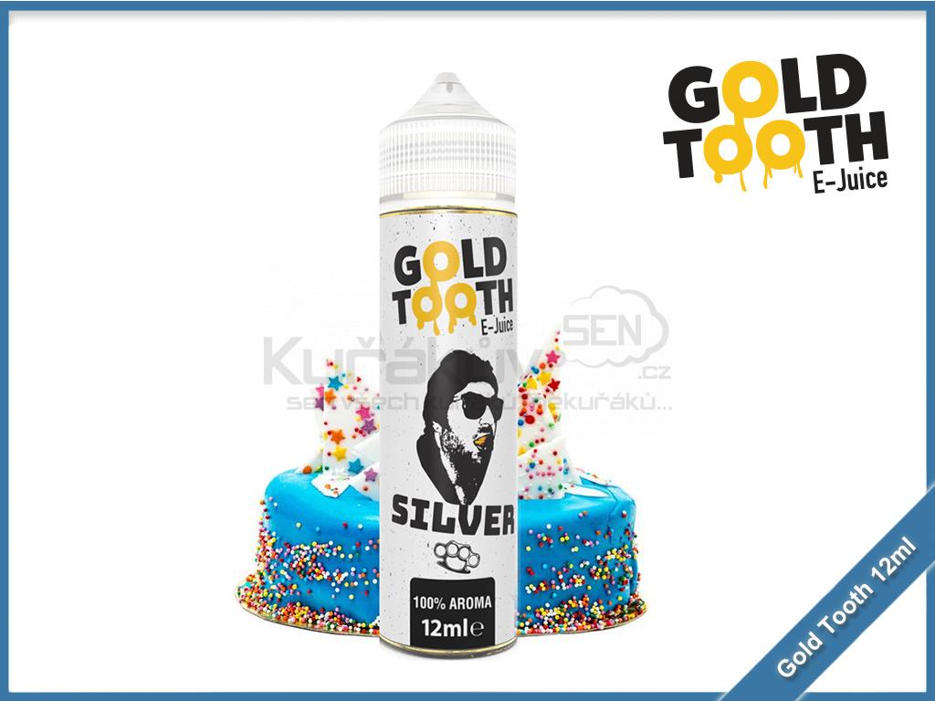 GoldTooth shake and vape 12ml aroma silver