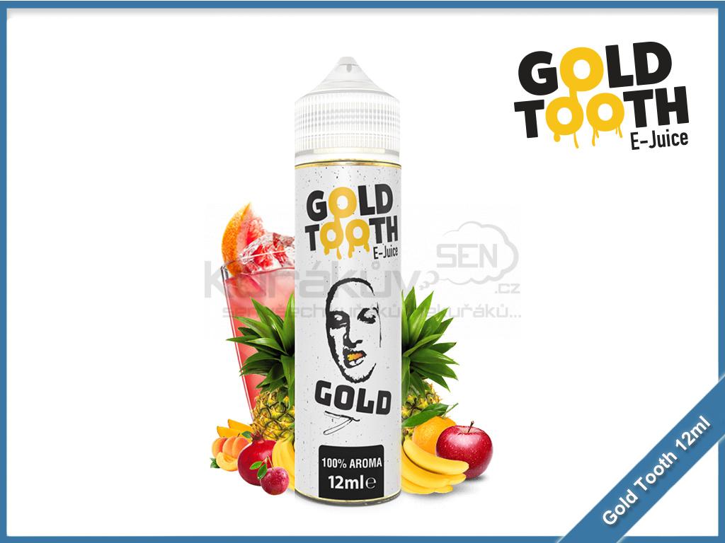 GoldTooth shake and vape 12ml aroma gold