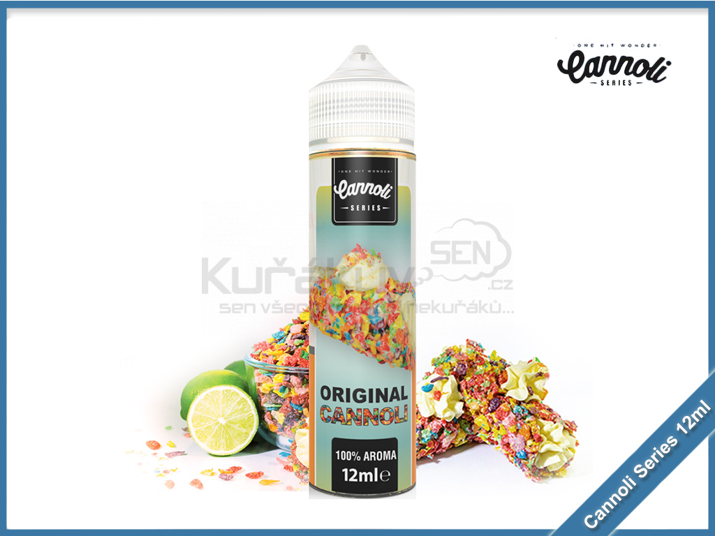 Cannoli shake and vape 12ml aroma original cannoli