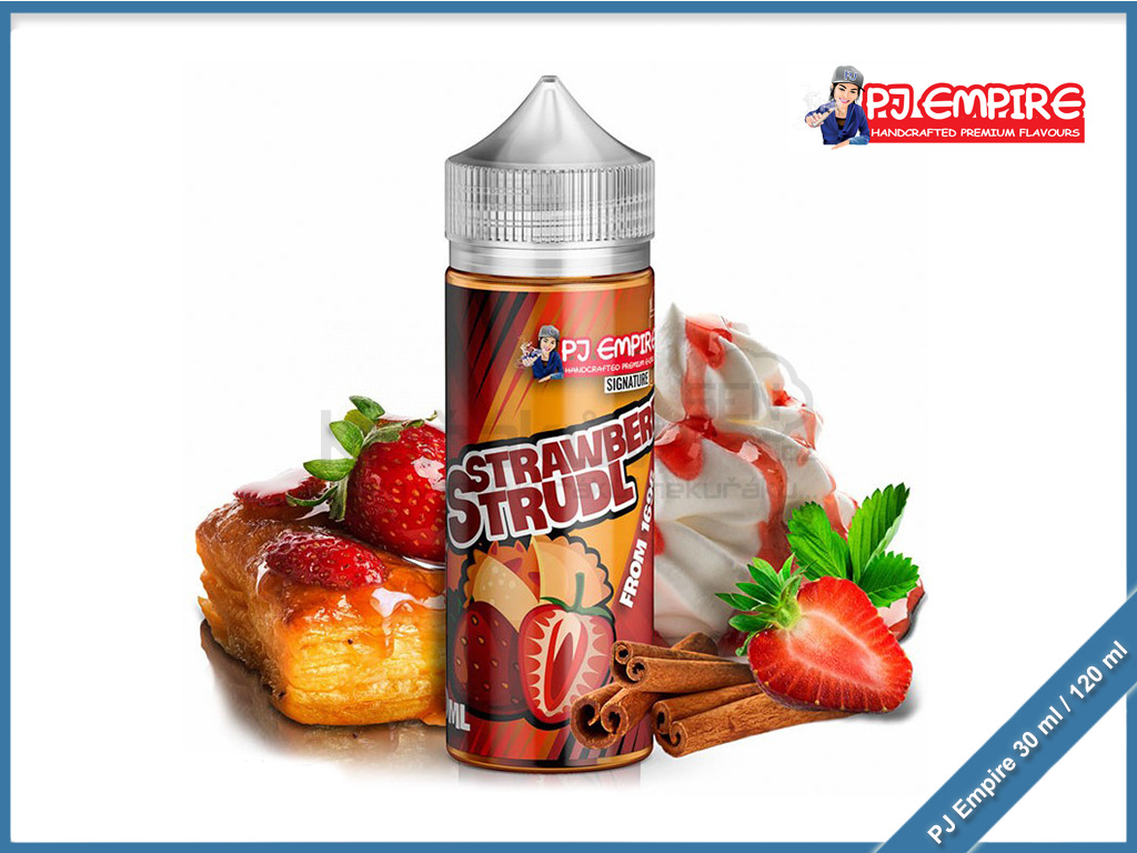 PJ empire Signature Line strawberry strudl