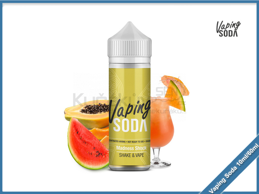 madness shock vaping soda