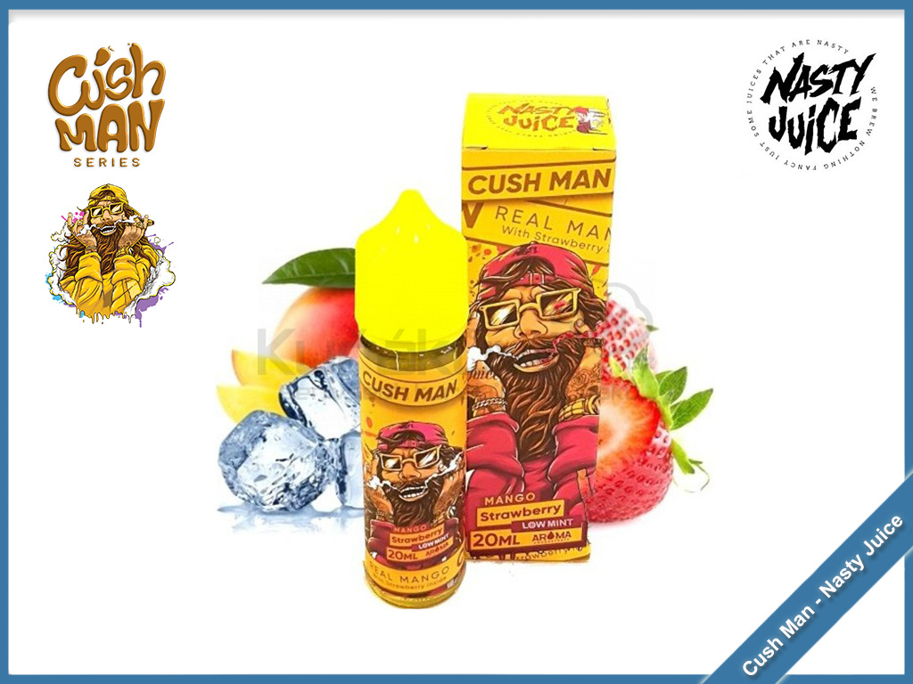 mango strawberry cush man nasty juice