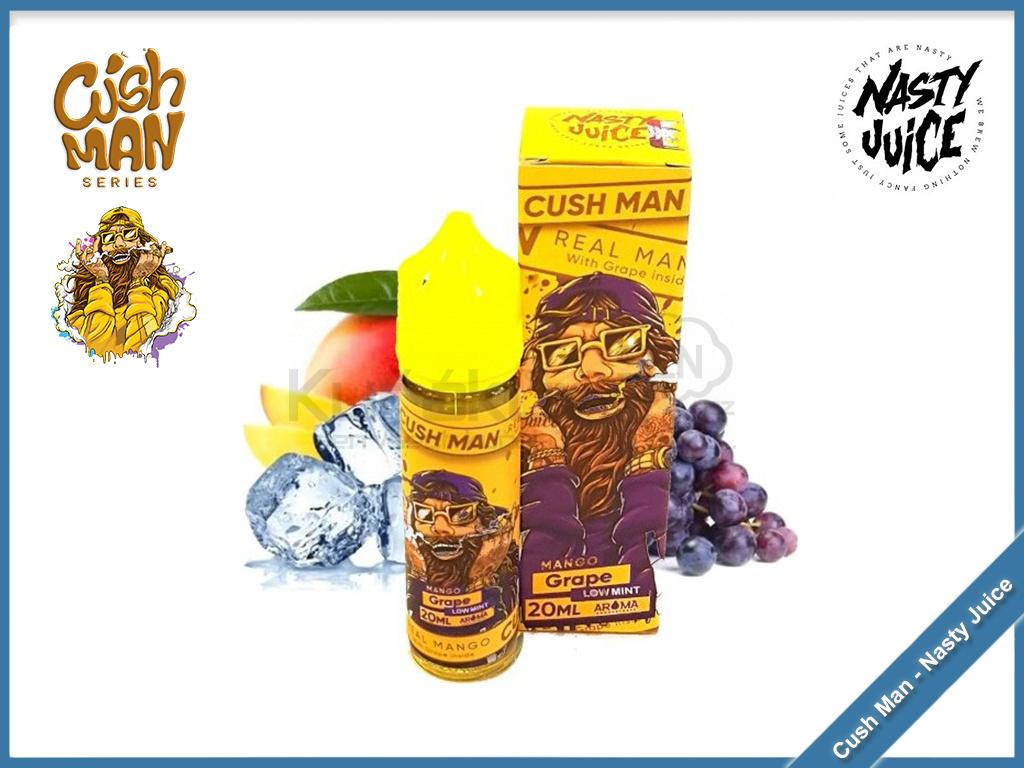 mango grape cush man nasty juice
