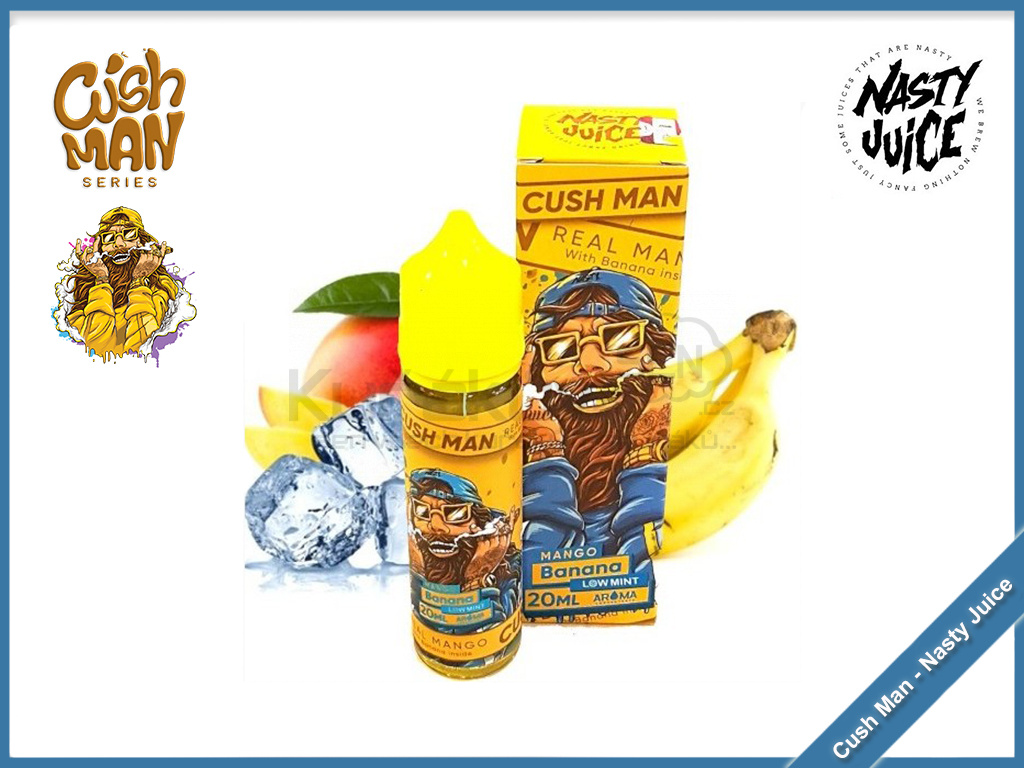 mango banana cush man nasty juice