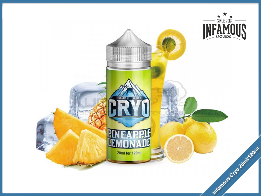 Infamous Cryo Pineapple Lemonade