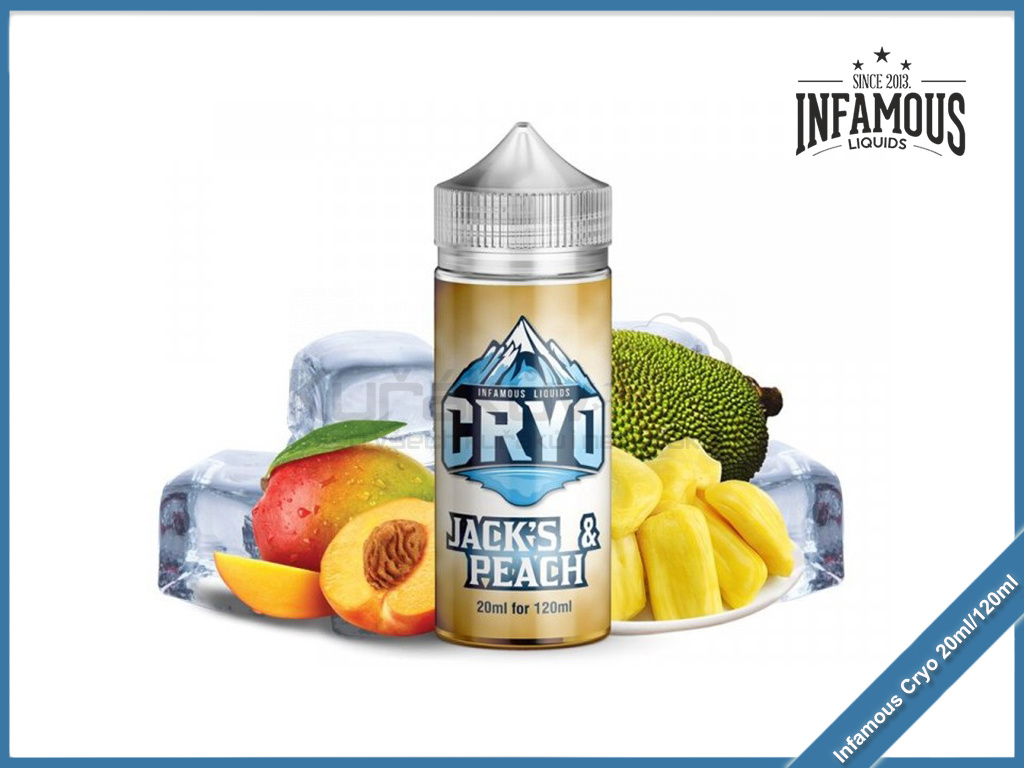 Infamous Cryo Jacks Peach