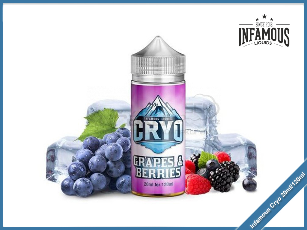 Infamous Cryo Grapes Berries