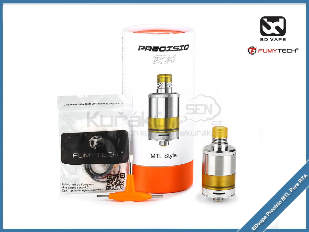 BDvape fumytech Precisio MTL Pure RTA