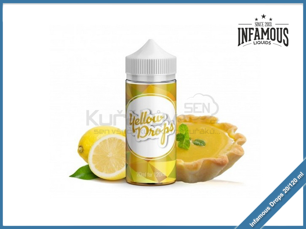 Infamous drops yellow
