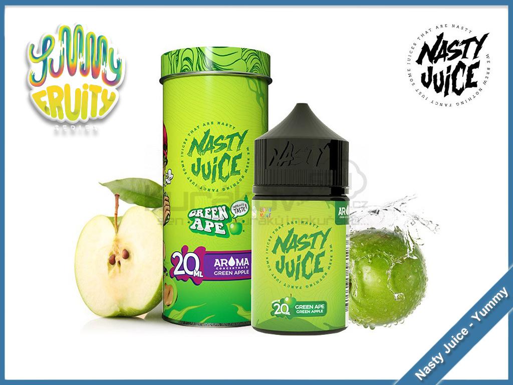 green ape yummy fruity nasty juice