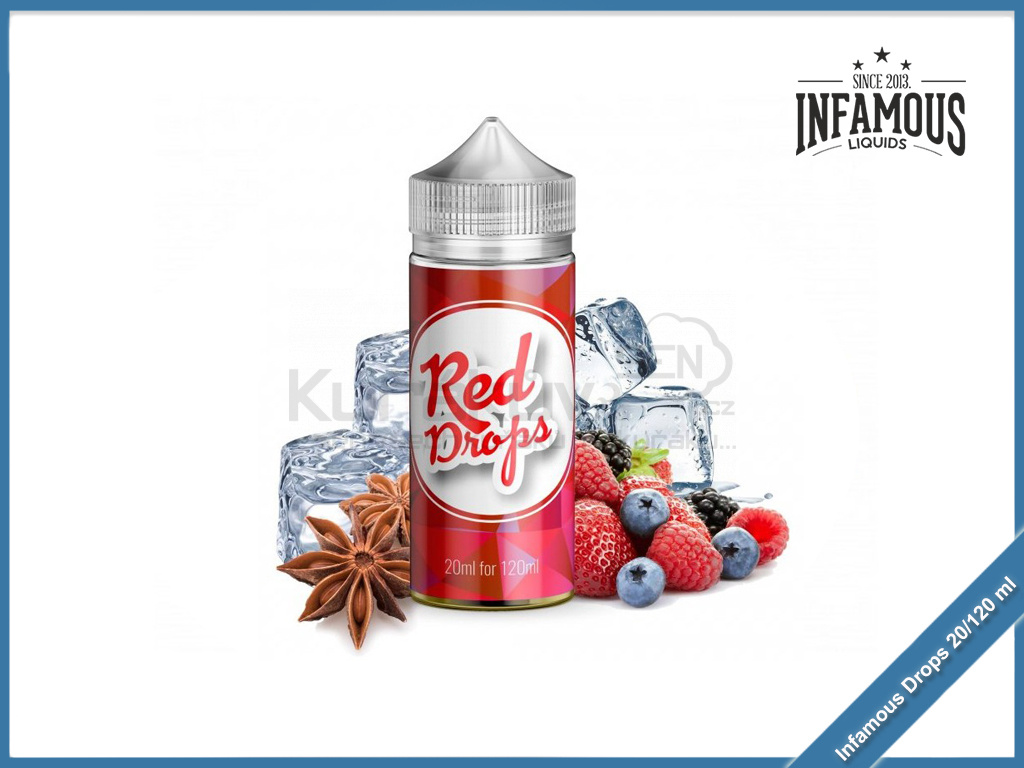 Infamous drops red