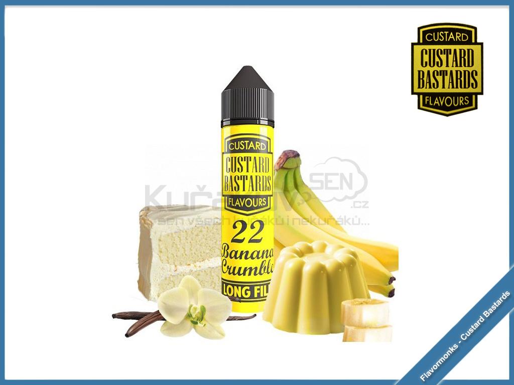 Flavormonks Custard Bastards No22 Banana Crumble
