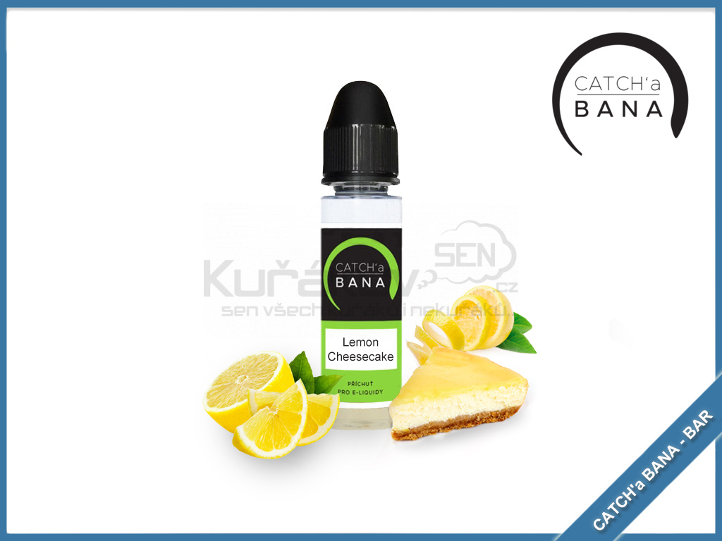 Lemon Cheesecake catcha bana bar