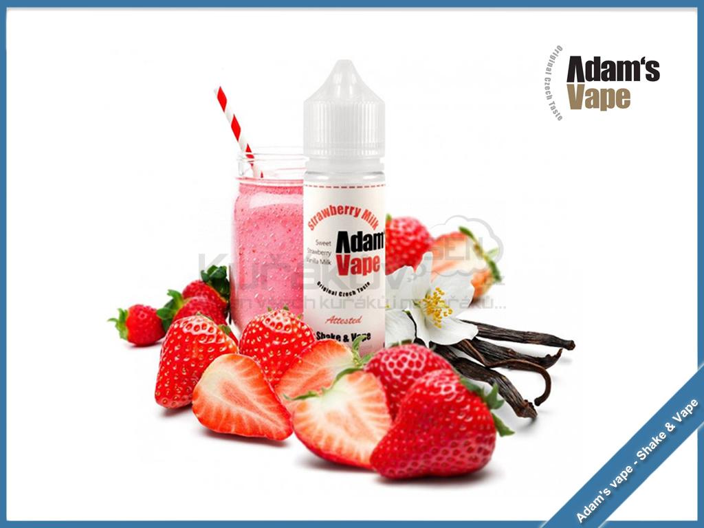 Strawberry Milk adams vape new