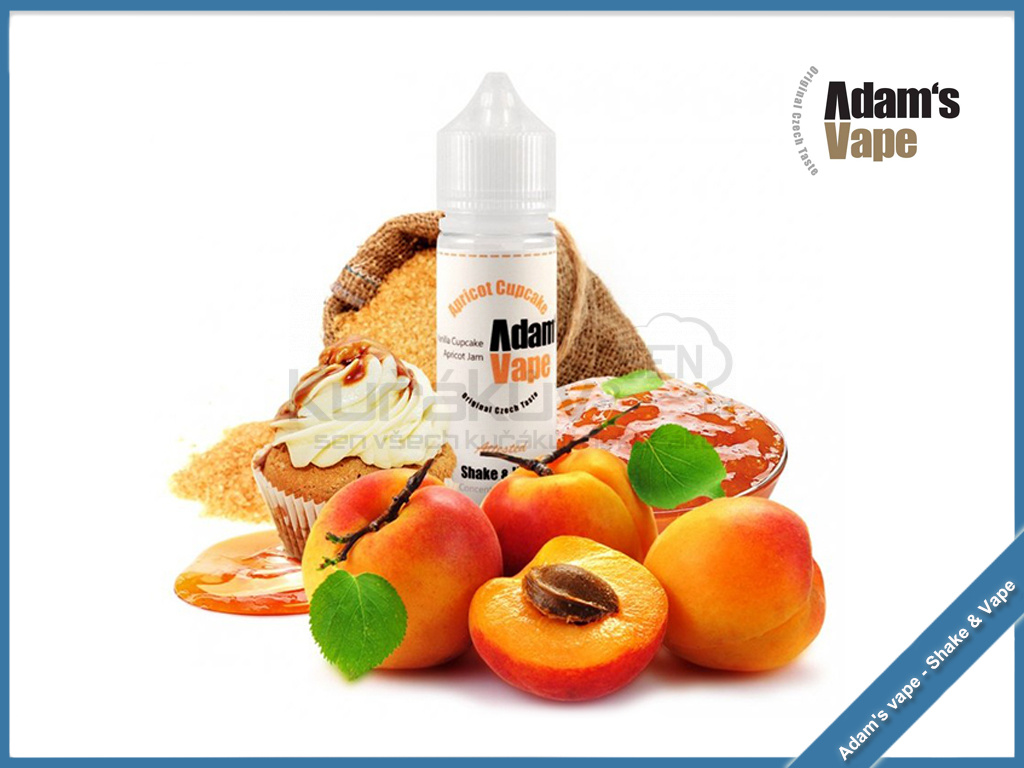 Apricot Cupcake adams vape new