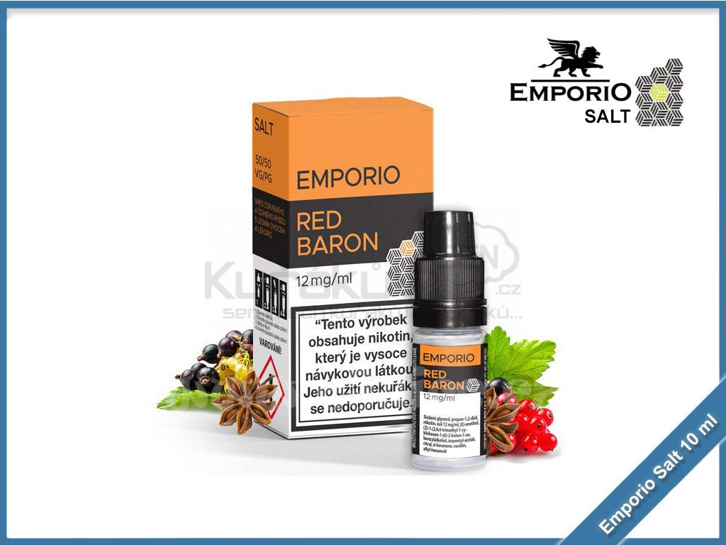 Emporio Salt liquid 10ml Red Baron 12