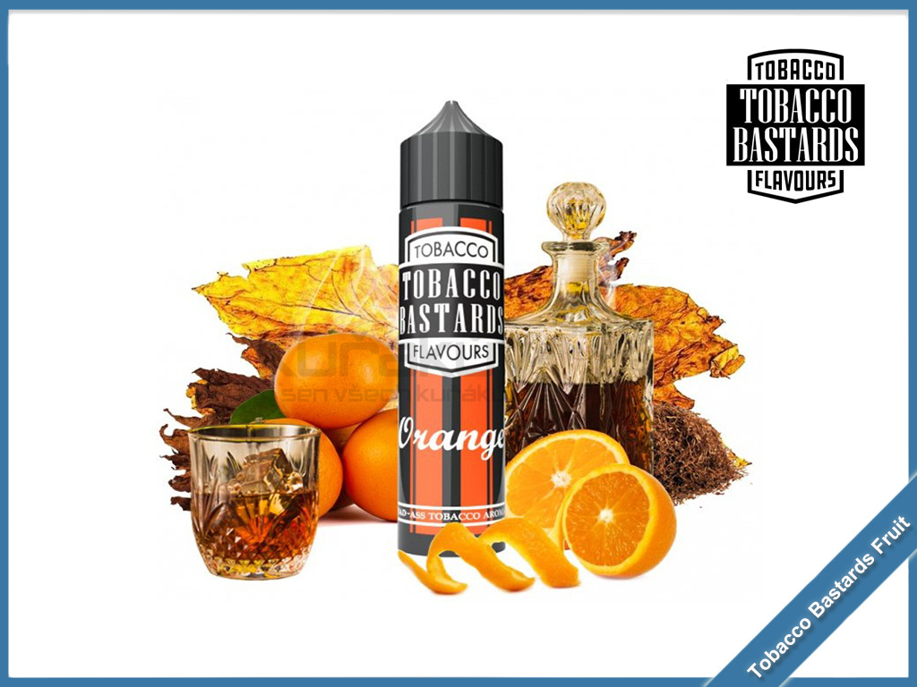 orange tobacco Flavormonks Tobacco Bastards