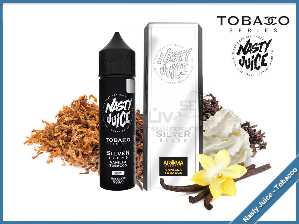 Silver nasty juice tobacco series