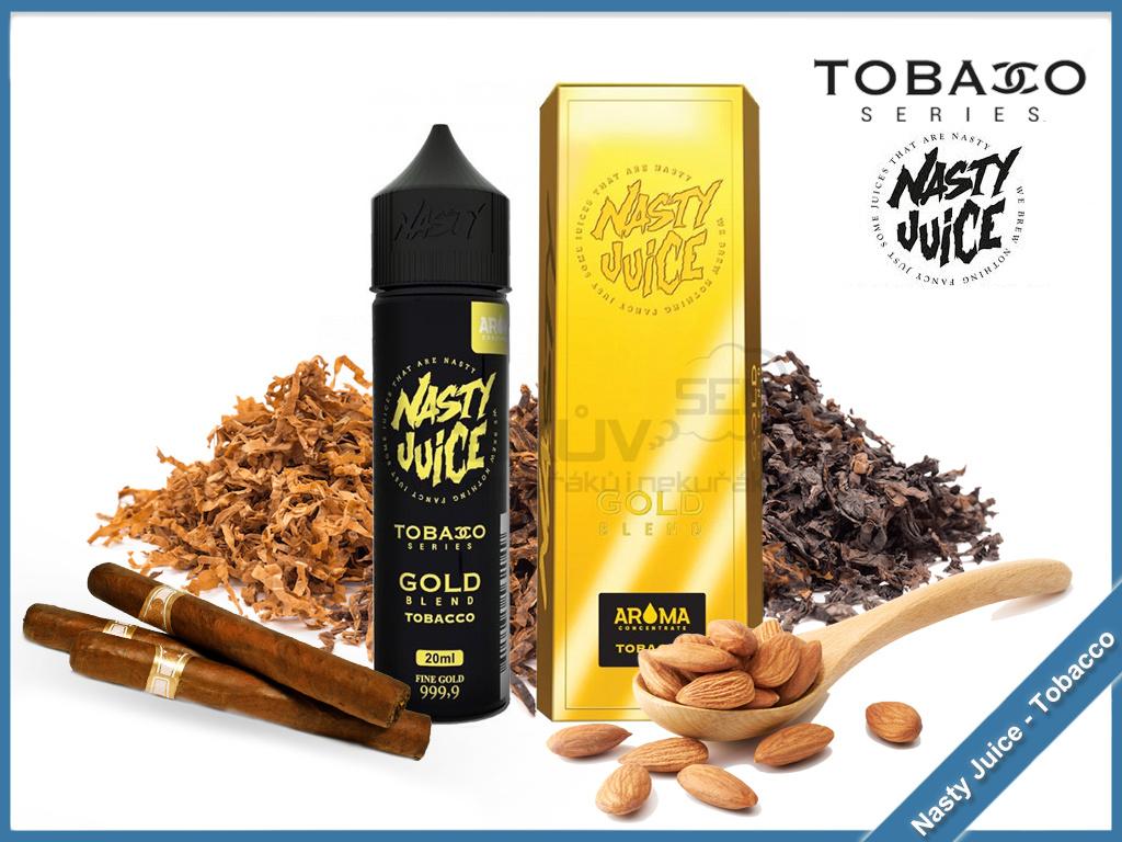 gold nasty juice tobacco series