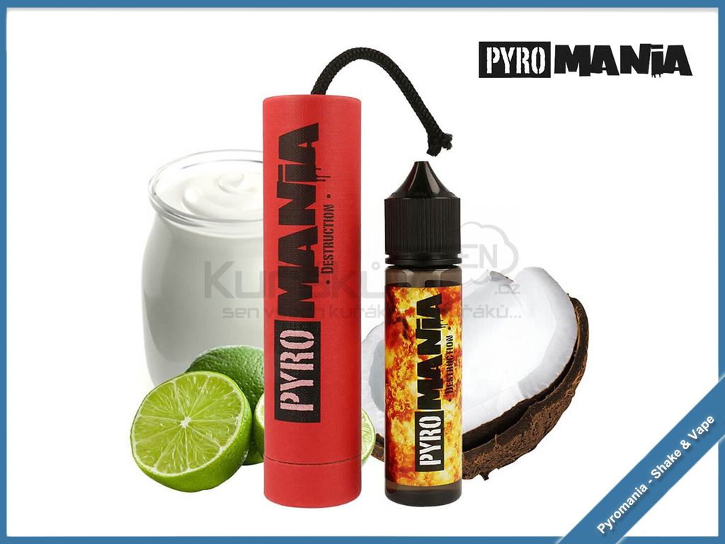 destruction pyromania shake and vape