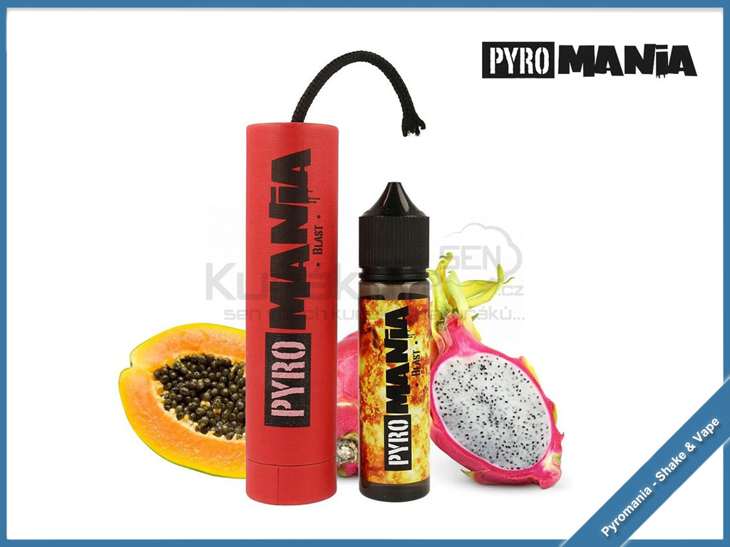blast pyromania shake and vape