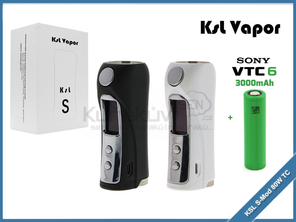 KSL S Mod 80W TC sony vtc6