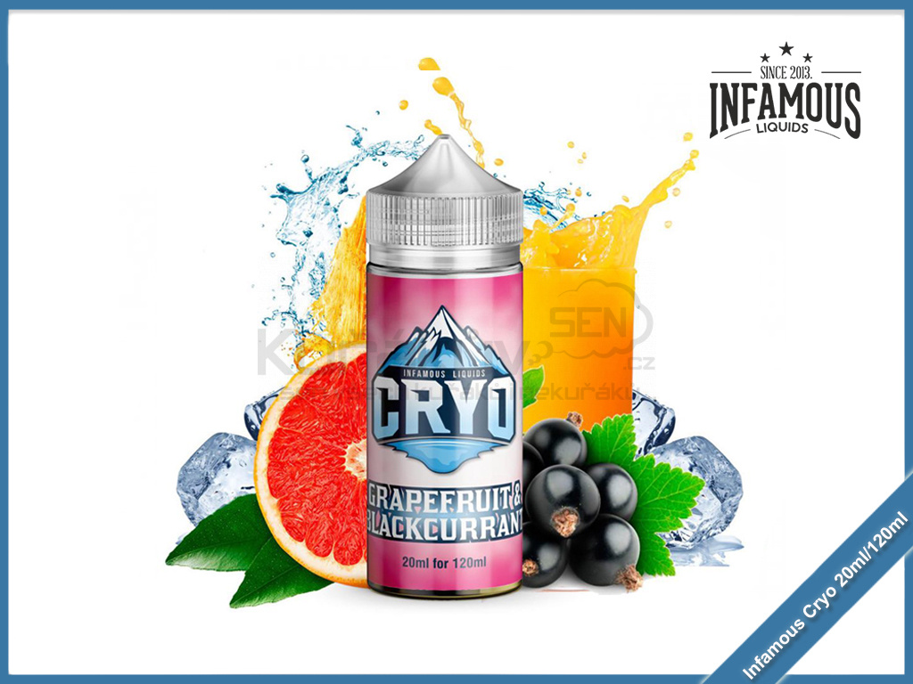 Infamous Cryo Grapefruit Blackcurrant