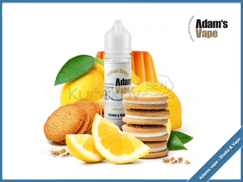 Lemon Bomb adams vape