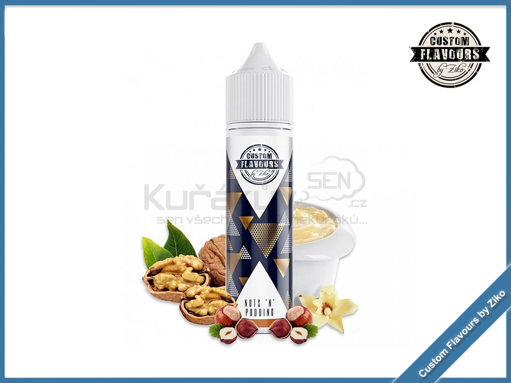 Nuts n Pudding Custom Flavours by Ziko