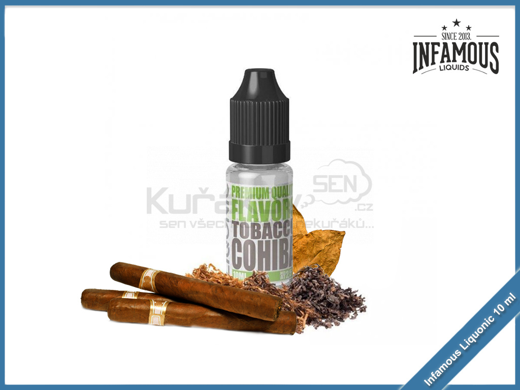 Tobacco Cohiba Infamous Liqonic