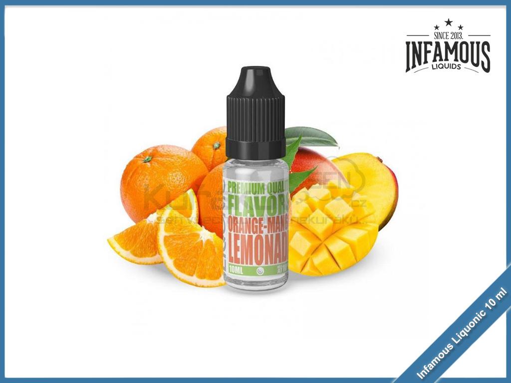 Orange Mango Lemonade Infamous Liqonic