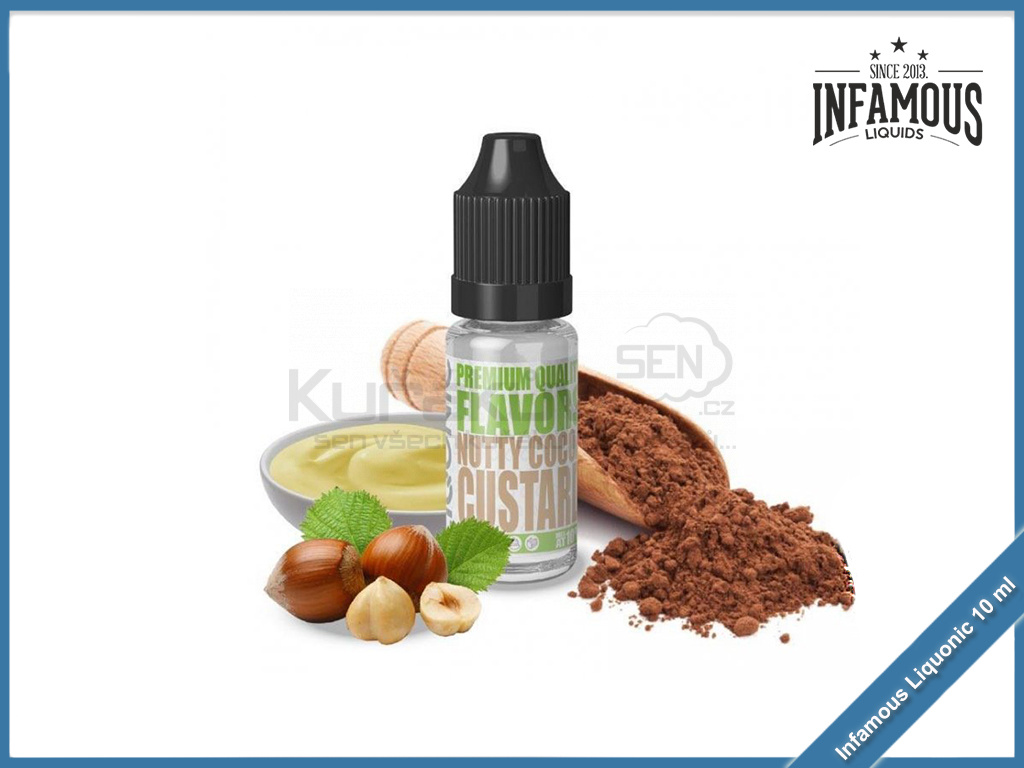Nutty Cocoa Custard Infamous Liqonic