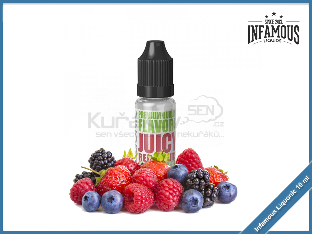 Juicy Red Fruits Infamous Liqonic
