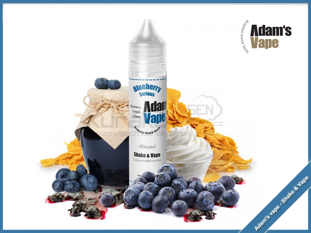 Blueberry Serious adams vape