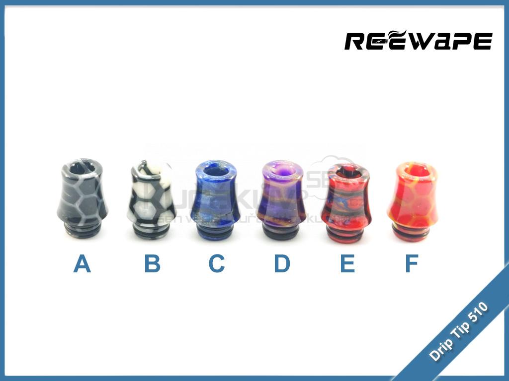 Naustek ReeWape Resin AS254SR Drip Tip 510