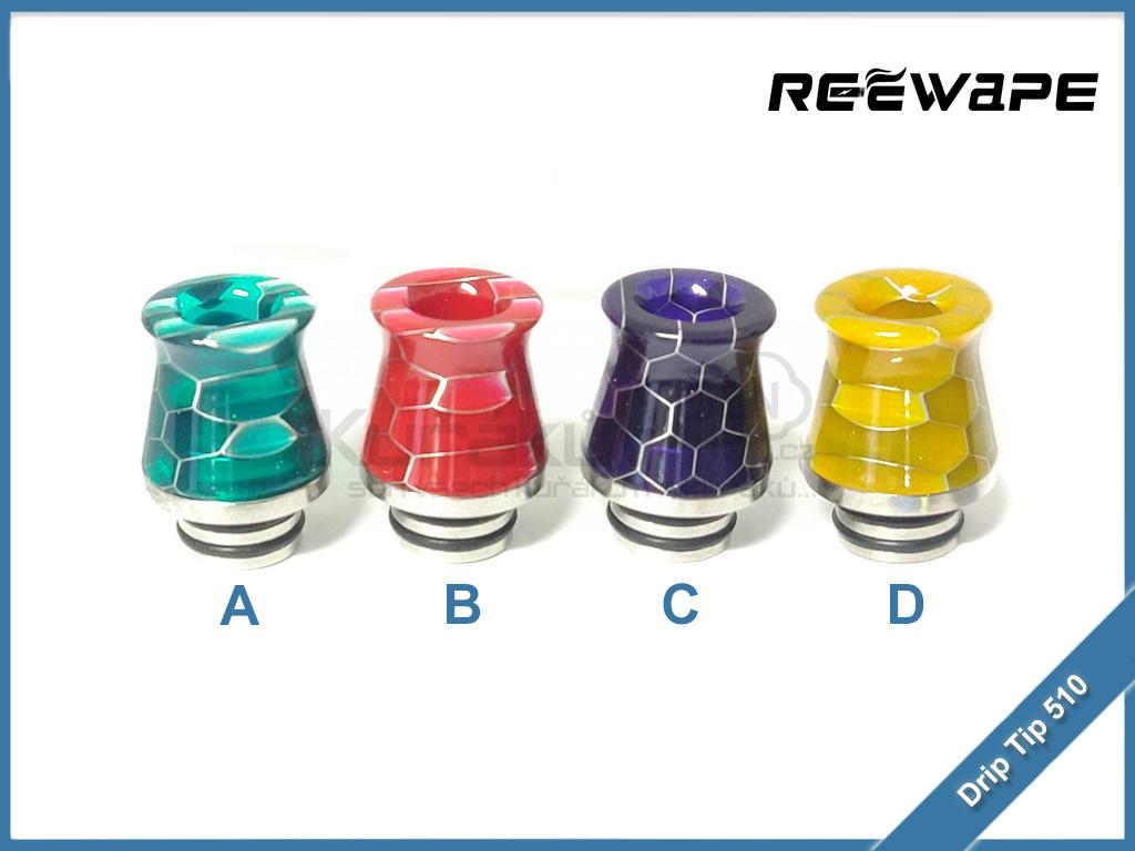 Naustek ReeWape Resin A216S Drip Tip 510