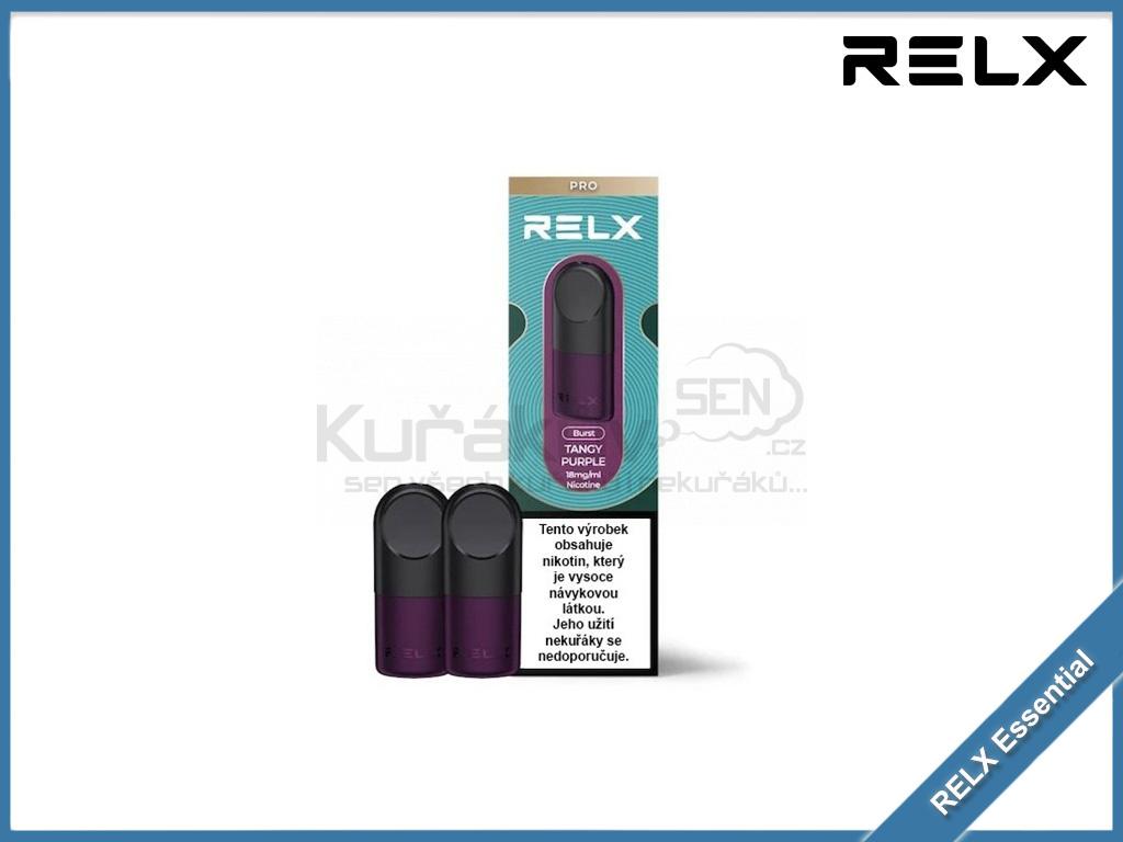 RELX Essential pod cartridge tangy purple 18mg