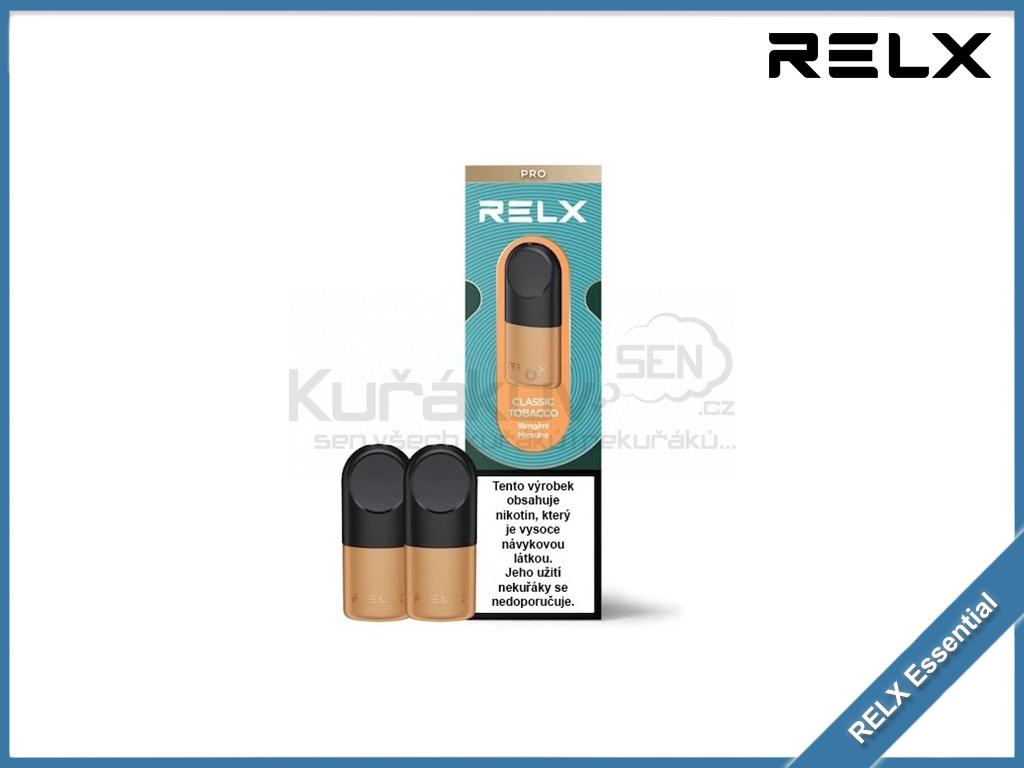 RELX Essential pod cartridge classic tobacco 18mg
